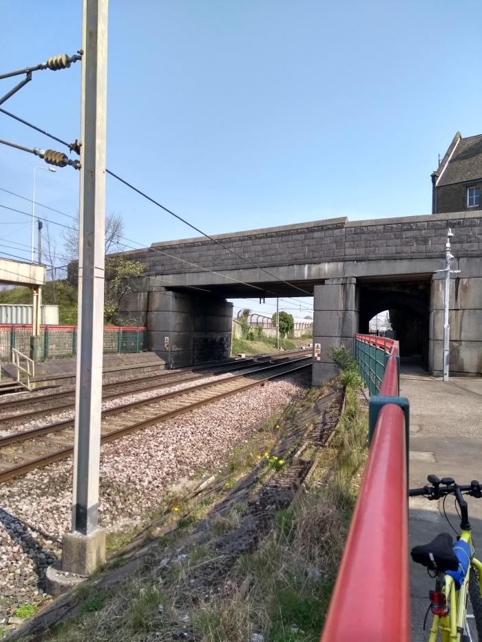 Carnforth Station Bridge